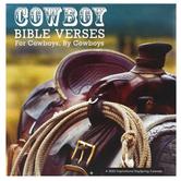 DaySpring, Cowboy Bible Verses 2022 Wall Calendar, 12 x 12 inches