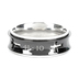 Spirit & Truth, Isaiah 41:10, Fear Not, Men's Spinner Ring, Stainless Steel, Black, Size 10