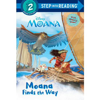 Moana Finds the Way, Step Into Reading, Level 2, by RH Disney, Paperback