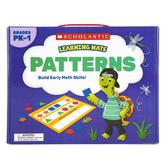 Scholastic, Patterns Learning Mats, 10 Mats, Grades PK-1