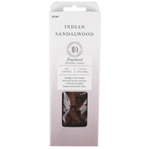 Darsee & David's, Indian Sandalwood Fragranced Incense Cones, 40 pieces