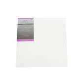 The Fine Touch, Stretched Artist Canvas Set, 12 x 12 x 0.75 Inches, White, Multi-pack of 2