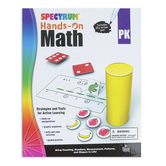Carson Dellosa, Spectrum Hands-On Math Activity Workbook, Grade PreK, 96 Pages, Ages 4-5