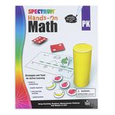 Carson Dellosa, Spectrum Hands-On Math Activity Workbook, Grade PreK, 96 Pages, Ages 4-5