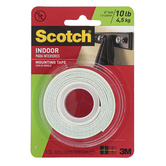 Scotch, Heavy Duty Indoor Mounting Tape, 1 x 50 inches