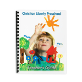 Christian Liberty Press, Preschool Activity Book, Teachers Guide, 2nd Ed, Spiral, 99 Pages, Grade Pre K
