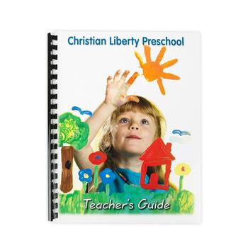 Christian Liberty Press, Preschool Activity Book, Teachers Guide, 2nd Ed, Spiral, 99 Pages, Grade Pre K