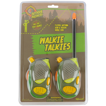 Toysmith, Outdoor Discovery: Walkie Talkies, Ages 5 and Older
