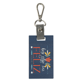 P. Graham Dunn, Today I Choose To Be Happy Spanish Key Chain, Wood and Metal, 2 x 6 1/2 inches