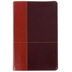NIV Personal Size Reference Bible, Large Print, Duo-Tone, Dark Brown and Tan, Thumb Indexed