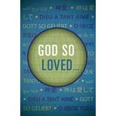 Good News Tracts, God So Loved, Set of 25 Tracts