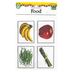 Carson-Dellosa, Key Education, Nouns: Food Learning Cards, 4 1/4 x 5 1/2 Inches, 46 Cards, Grades PK-1