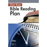 One-Year Bible Reading Plan Pamphlet, by Rose Publishing