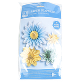 Teacher Created Resources, Floral Sunshine Paper Flowers, Assorted Sizes, Multi-Colored, Set of 4