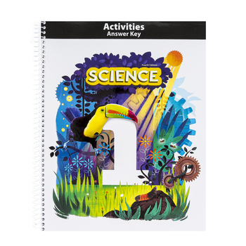 BJU Press, Science 1 Student Activity Manual Answer Key, 4th Edition, Grade 1