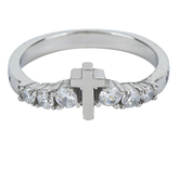 Spirit & Truth, Song of Solomon 2:4, His Banner Sola De Gloria, Women's Ring, Stainless Steel, Sizes 5-9
