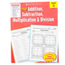 Scholastic, Success With Addition and Subtraction Activity Book, 48-Pages, Paperback, Grade 4