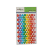 Renewing Minds, Colorful Smiley Faces Mini Incentive Stickers, Assorted Colors, Pack of 1050