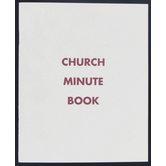 Broadman Church Supplies, Church Minute Book, 8 1/4 x 6 3/4 inches, 54 Pages