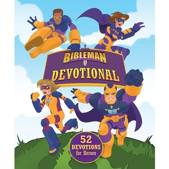Bibleman Devotional: 52 Devotions for Heroes, by Tim Wesemann, Hardcover