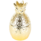 Peony & Yuzu Pineapple Jar Candle, 2.6 ounces, 2 3/4 x 3 5/8 inches