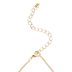 Faith in Bloom, Flowers with Cross Oval Pendant Necklace, Zinc Alloy, Gold, 24 Inch Chain