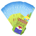 Renewing Minds, Happy Camper, Camp Out With A Good Book Bookmarks, 2 x 7 Inches, Pack of 36