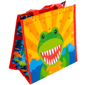 Stephen Joseph, Dinosaur Party Recycled Gift Bag, 9 1/2 x 9 x 5 1/2 inches, 1 Each