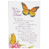 Product Concept Manufacturing, Blessed You Are My Mom Spanish Tabletop Plaque, 4 x 6 inches