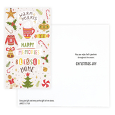 DaySpring, James 1:17 Warm Hearts Happy Memories Christmas Boxed Cards, 16 Cards & Envelopes