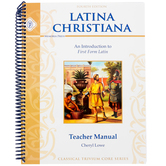 Memoria Press, Latina Christiana 1, Teacher, by Cheryl Lowe
