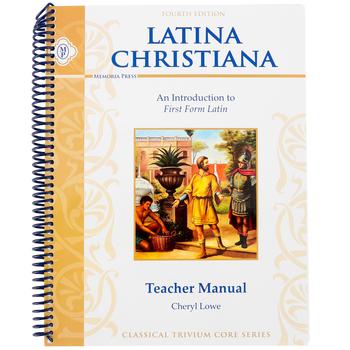 Memoria Press, Latina Christiana 1, Teacher, by Cheryl Lowe