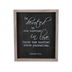 Romans 12:10 Wood Wall Decor, Wood, Black and White, 10 x 12 x 1 1/2 inches