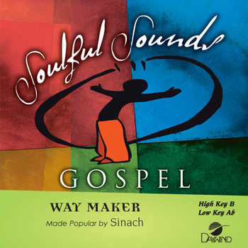 Way Maker, Accompaniment Track, As Made Popular by Sinach, CD