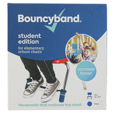 Bouncyband, Original Bouncy Band Middle-High School Student School Chairs, Blue, Fits 17-24 Inch Wide