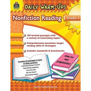 Daily Warm-Ups Non Fiction Reading