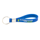 CTA, Inc., Making A Difference Inspiring Lives Silicone Band Key Chain, 4.75 Inches