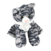 Aurora, Mini Flopsies, Lily the Cat Stuffed Animal, 8 inches