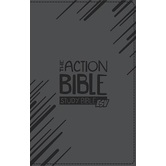 ESV Action Bible, Study Bible, Duo-Tone, Black