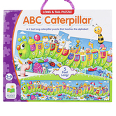 The Learning Journey, ABC Caterpillar Long & Tall Floor Puzzle, 51 Pieces, 5 Feet Long