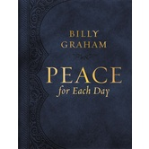Peace for Each Day, by Billy Graham, Imitation Leather