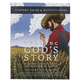 Well-Trained Mind Press, Telling God's Story Year Two Student Activity Book, Paperback, Grade 2