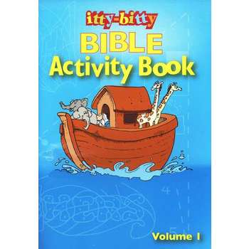 itty-bitty, Bible Activity Book, Volume 1, by Warner Press, Paperback