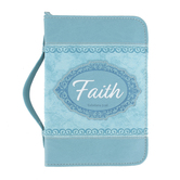 Divinity Boutique, Galatians 3:26 Faith Bible Cover, Imitation Leather, Multiple Sizes Available