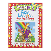 RoseKidz, Instant Bible Lesson For Toddlers God Takes Care Of Me Activity Book, Ages 1-3