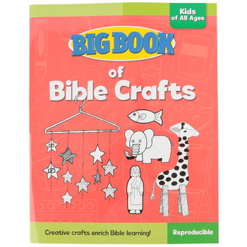 Big Book of Bible Crafts for All Ages by David C Cook, Paperback, 248 Pages, Grades PK-6
