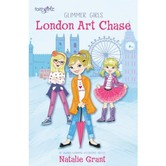 FaithGirlz, London Art Chase, Glimmer Girls Series, Book 1, by Natalie Grant, Paperback