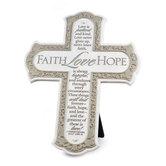 Faith, Love, Hope Cross