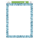 Renewing Minds, Customizable Blank Chart, 17 x 22 Inches, Blue Mosaic, 1 Each