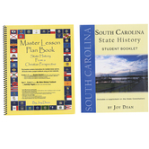 A Helping Hand, State History from a Christian Perspective South Carolina Set, Grades 3-12